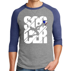 Soccer Icon - Alternative Dugout 3/4 Sleeve Vintage 50/50 Tee  Thumbnail