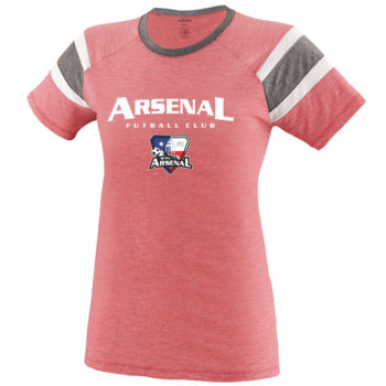 Arsenal Futball Club - White w/ Crest - Fanatic Tee Thumbnail