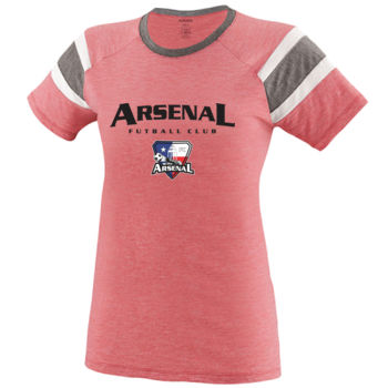 Arsenal Futball Club - Black w/ Crest - Fanatic Tee  Thumbnail