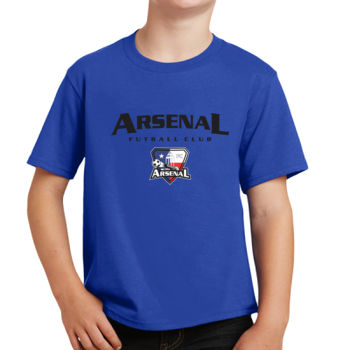 Arsenal Futball Club - Black w/ Crest - Youth Fan Favorite Tee Thumbnail