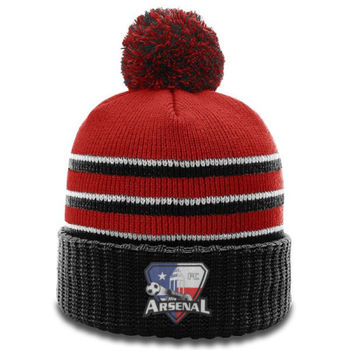 Arsenal  - Richardson POM Beanie With Cuff Thumbnail