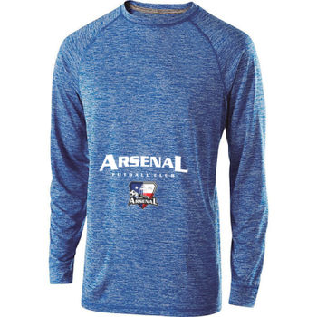Arsenal Futball Club - White w/ Crest - Holloway Electrify 2.0 Shirt Long Sleeve  2 Thumbnail